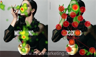 Moschino eye-tracking comparison